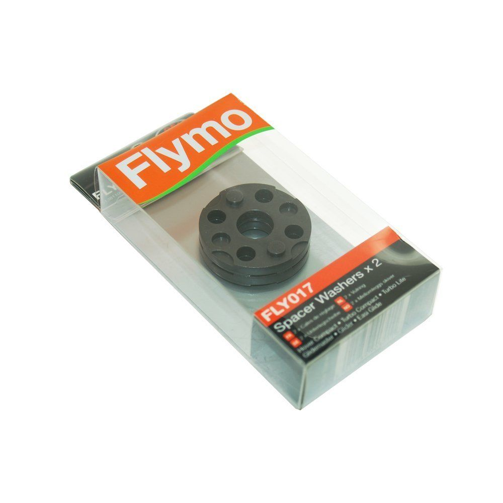 FLYMO HOVER MOWER FLY017 2 BLADE HEIGHT SPACERS GENUINE MICRO CO