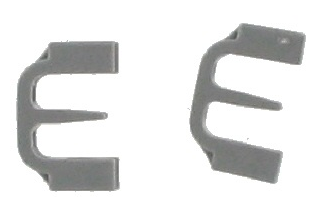 BOSCH NEFF SIEMENS DISHWASHER BASKET BEARING CLIPS PK2 167291
