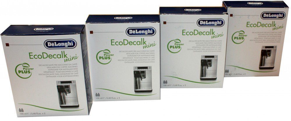 DELONGHI bean to cup coffee machine natual descaler 8x100ml barg