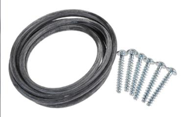 416886 BOSCH NEFF SIEMENS WASHING MACHINE TUB SEAL AND SCREWS GE