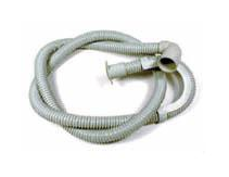 ARISTON CREDA HOTPOINT DRAIN HOSE WITH 90 DEGREE ELBOW C00209469