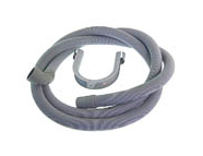 UNIVERSAL 2.0 METRE DRAIN HOSE WITH 90 DEGREE END 54