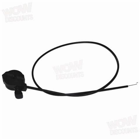 512722205 FLYMO PETROL HOVER MOWER L47 L470 THROTTLE/CHOKE CABLE